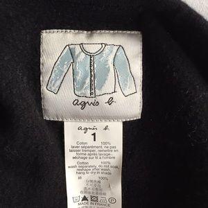 Agnes B. Sweaters - Agnès b. iconic button down jacket